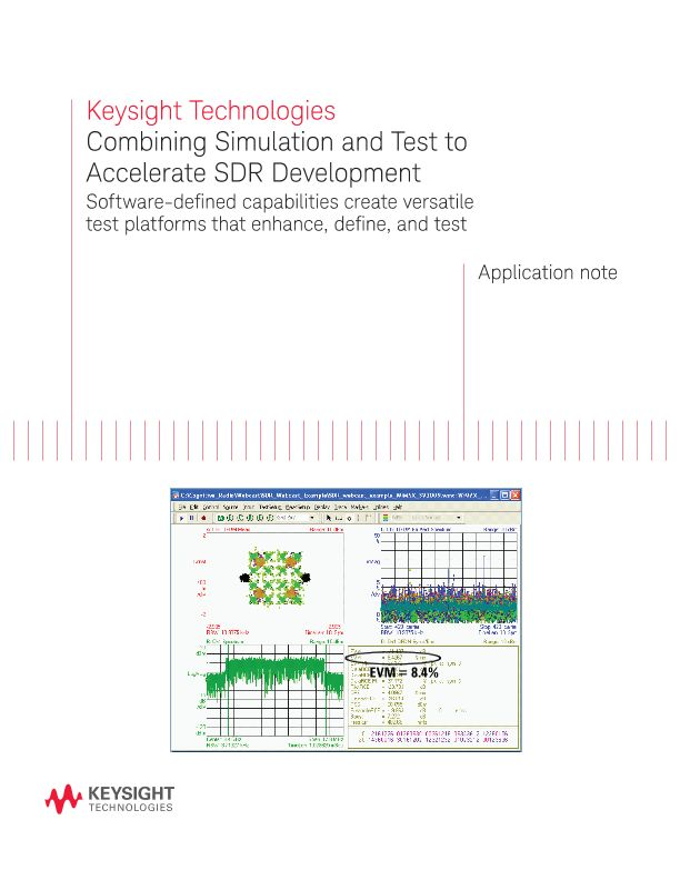 Combining Simulation and Test to Accelerate SDR Development
