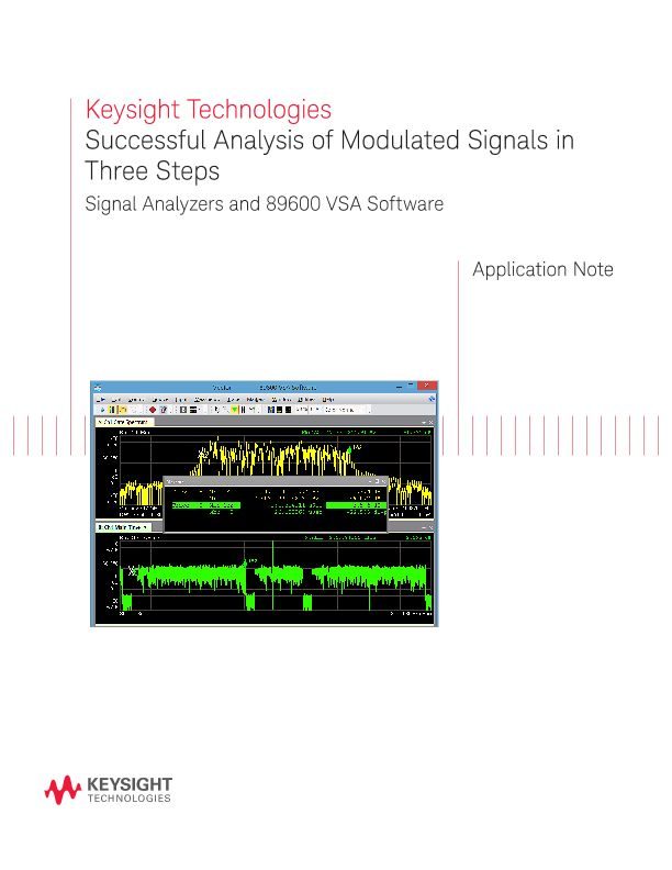 Successful Analysis of Modulated Signals