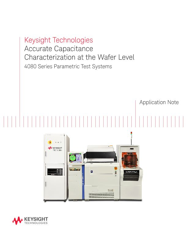 Accurate Capacitance Measurement with a Wafer Prober