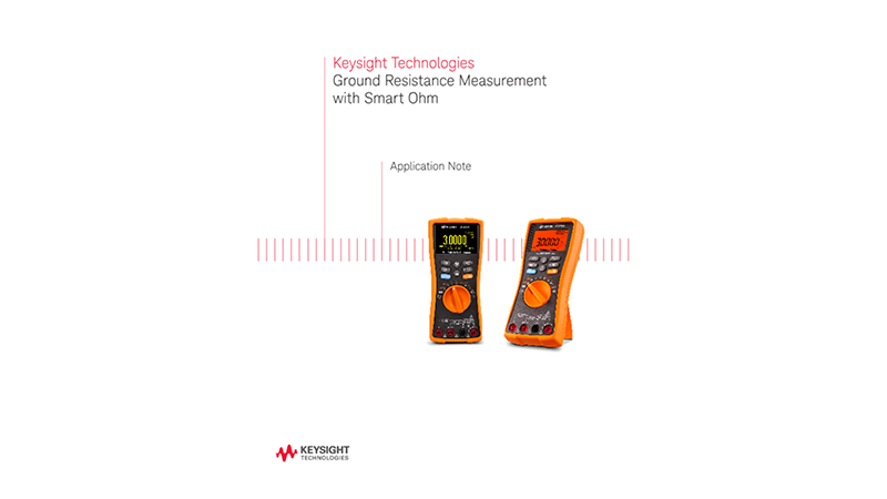 Ground Resistance Measurement with Smart Ohm