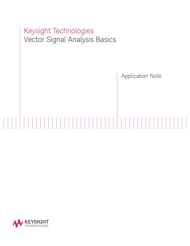 Vector Signal Analysis Basics