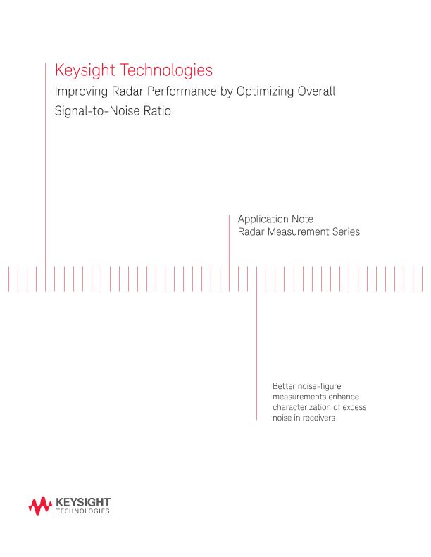Improving Radar Performance by Optimizing Overall Signal-to-Noise Ratio