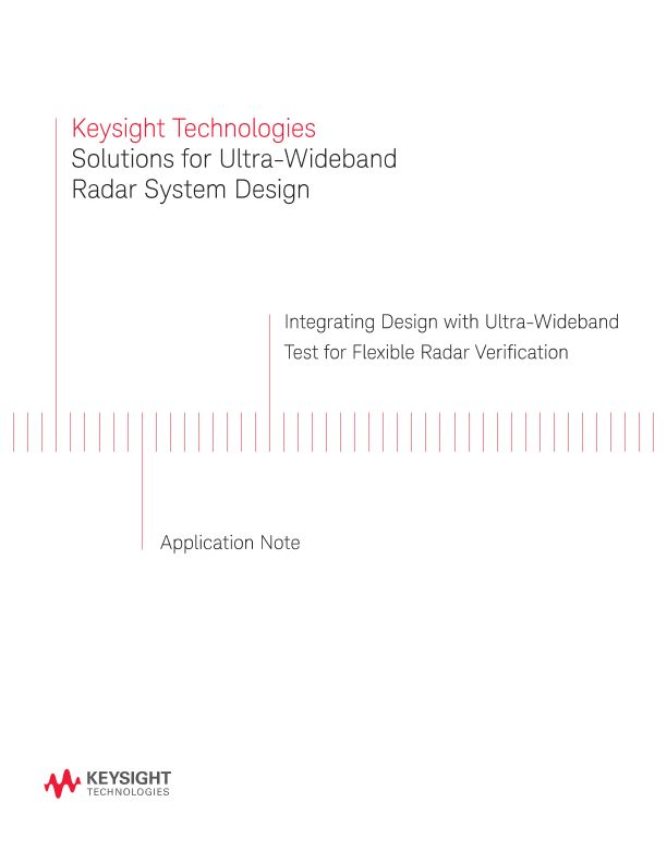 Ultra-Wideband (UWB) Radar System Design Solutions