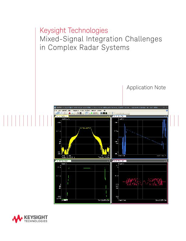 Mixed-Signal Integration Challenges in Complex Radar Systems