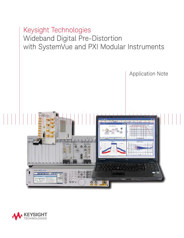 Wideband Digital Pre-Distortion with SystemVue and PXI Modular Instruments