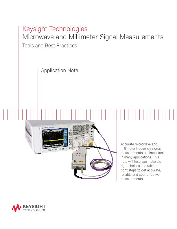 Microwave and Millimeter-wave Frequency Measurements