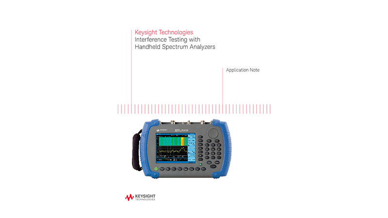 Interference Test with Handheld Spectrum Analyzers