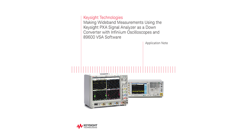 Making Wideband Measurements Using PXA Signal Analyzers