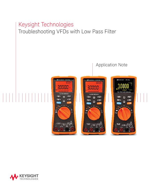 Troubleshooting VFDs with Low Pass Filter