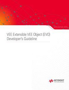 VEE Extensible VEE Object (EVO) Developer's Guideline
