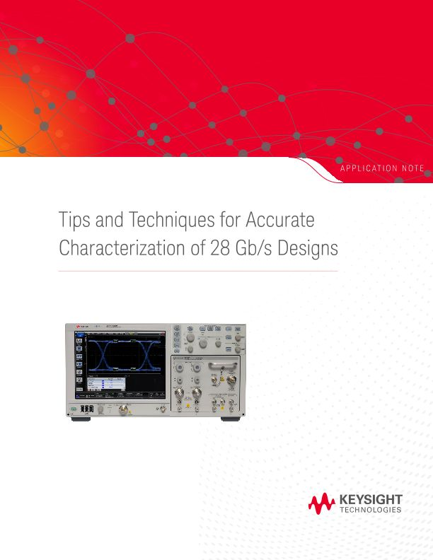 Tips and Techniques for Accurate Characterization of 28 Gb/s Designs