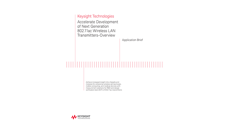 Design and Verification of Wireless LAN 802.11ac Transmitters