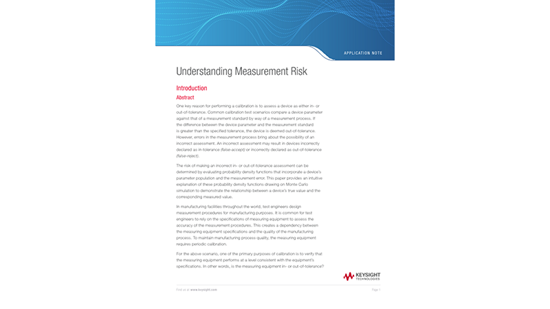 Understanding Measurement Risk