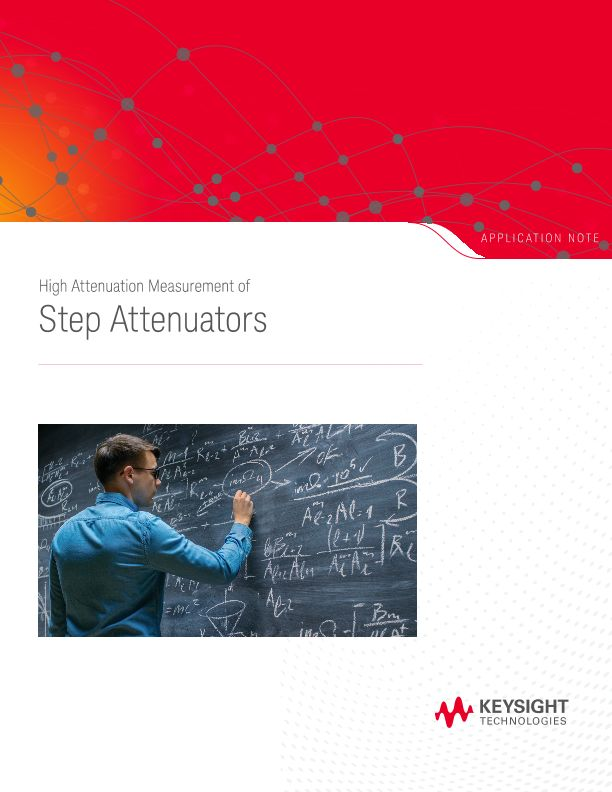 High Attenuation Measurement of Step Attenuators
