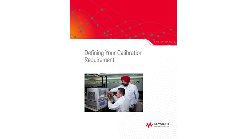 Defining Your Calibration Requirement