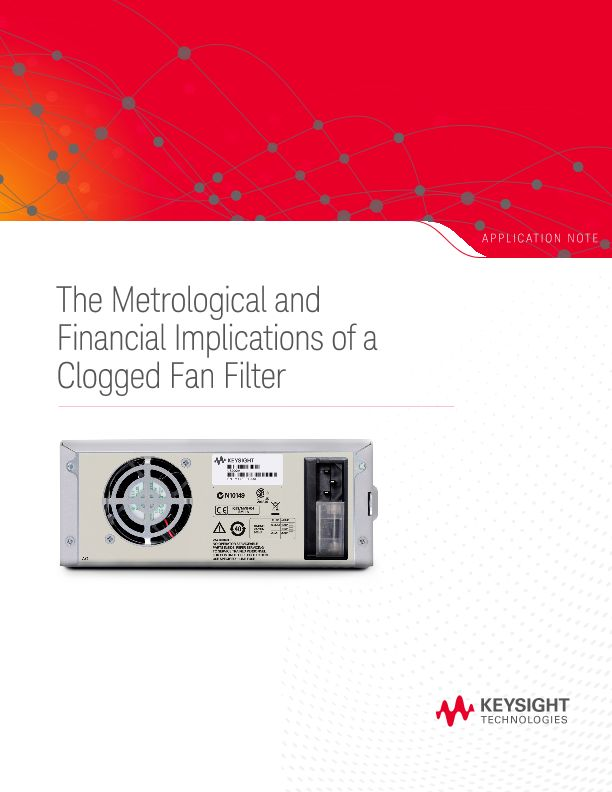 The Metrological and Financial Implications of a Clogged Fan Filter