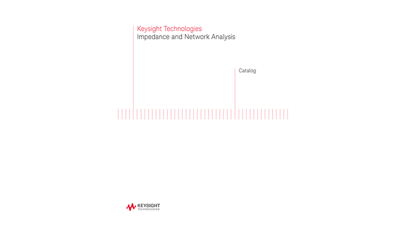 Impedance Measurement and Network Analysis