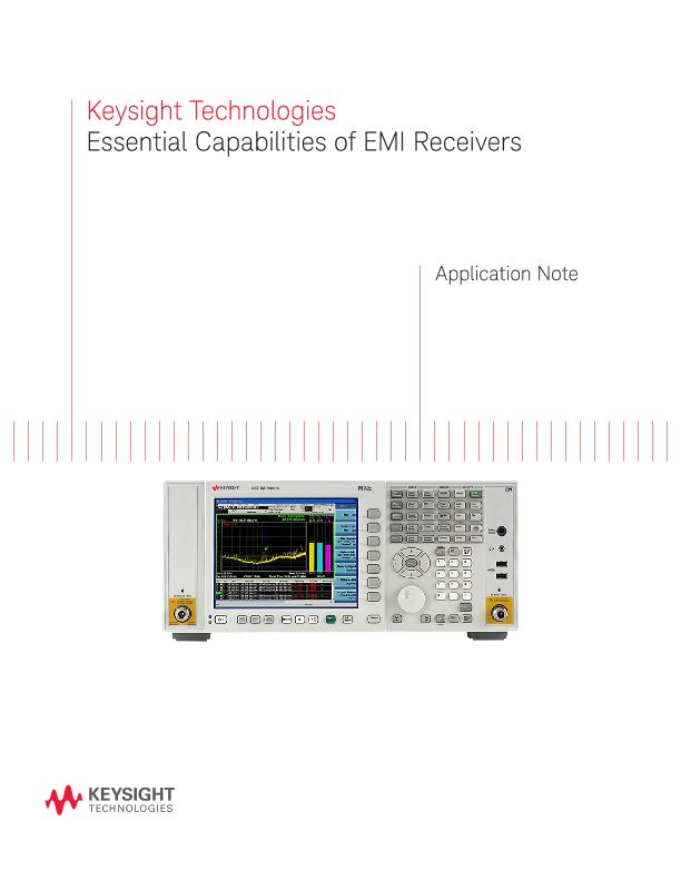 Essential Capabilities of EMI Receivers