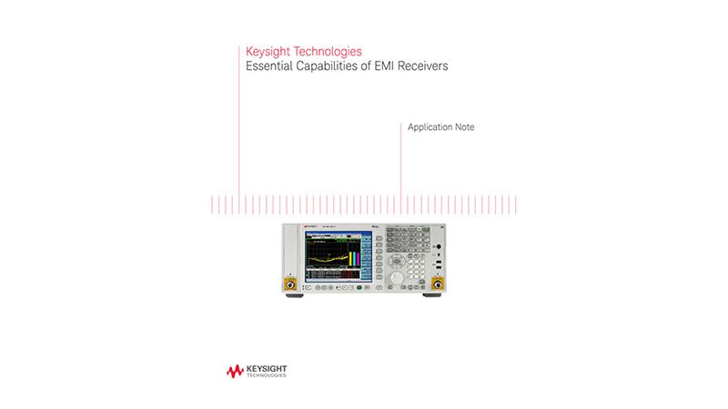 Essential Capabilities of EMI Receivers