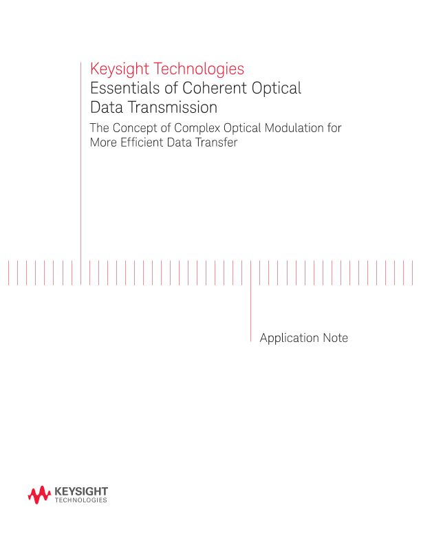 Essentials of Coherent Optical Data Transmission