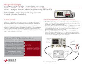Perform MMIC Amplifier S-parameter Measurements