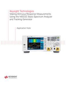 Stimulus-Response Tests Using a Spectrum Analyzer