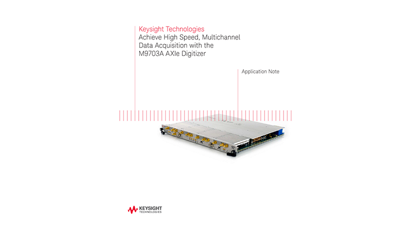 Multichannel High Speed Data Acquisition (AXIe Digitizer)