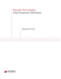 Pulse Parameter Definitions