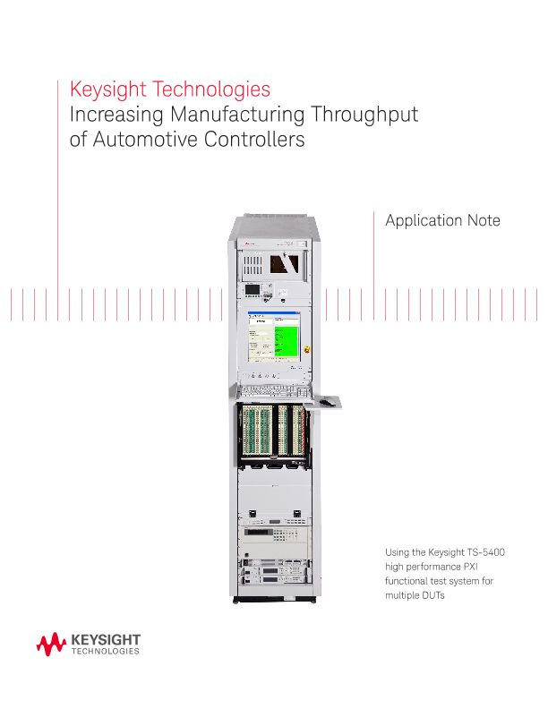 Increase Throughput in the Manufacturing of Automotive Controllers