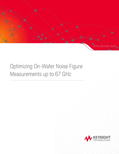On-Wafer Noise Figure Measurement Optimization