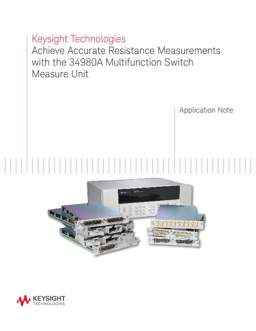 Achieve Accurate Resistance Measurements