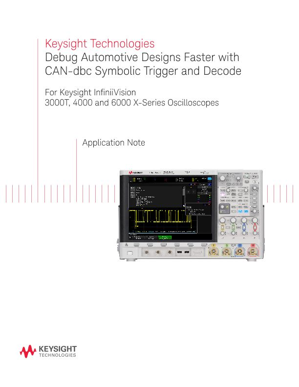 Debug Automotive Design Faster with CAN-dbc Trigger and Decode