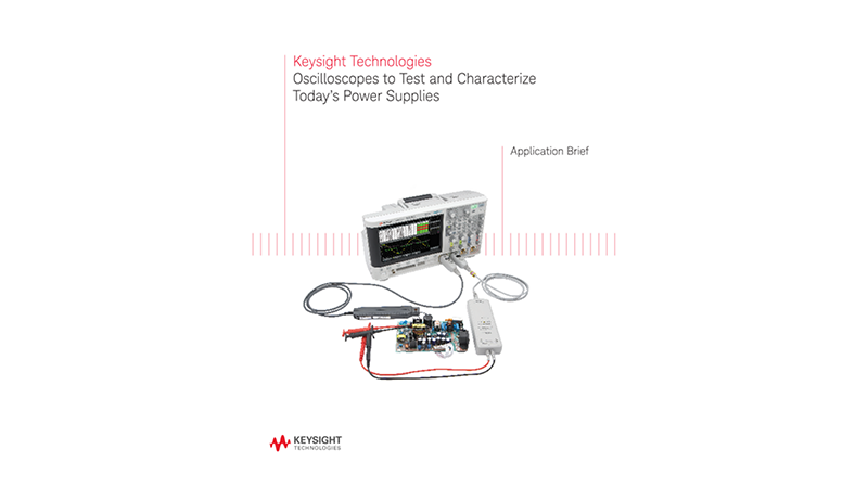 Testing and Characterizing Power Supplies with Oscilloscope