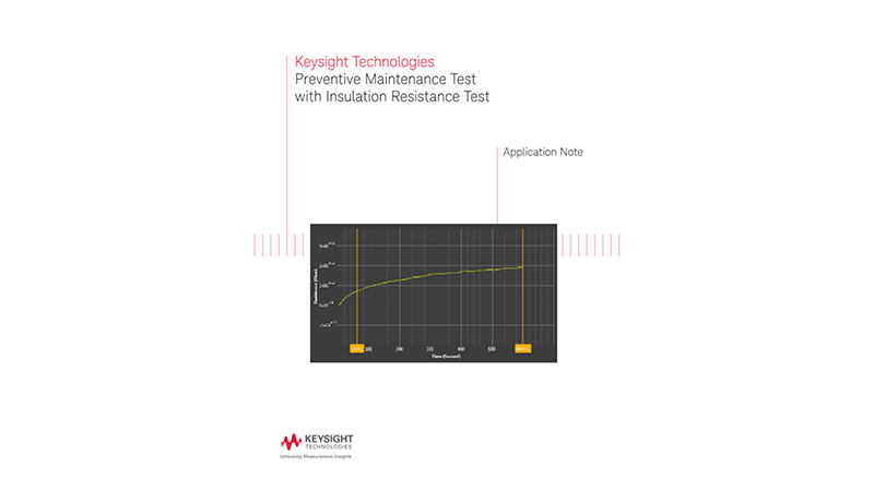 Preventive Maintenance Test with Insulation Resistance Test