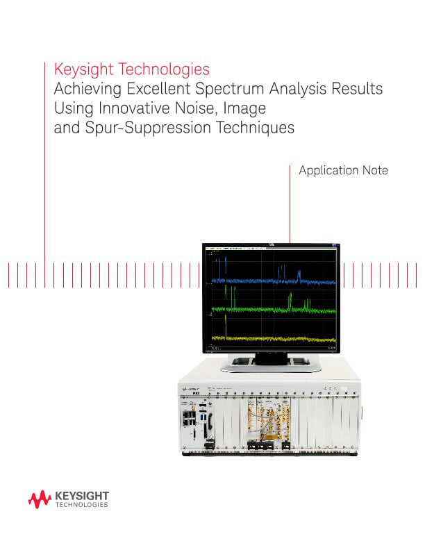 Noise, Image and Spur Suppression for Spectrum Analysis