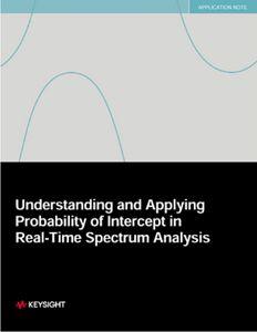 Applying Probability of Intercept (POI) in Spectrum Analysis