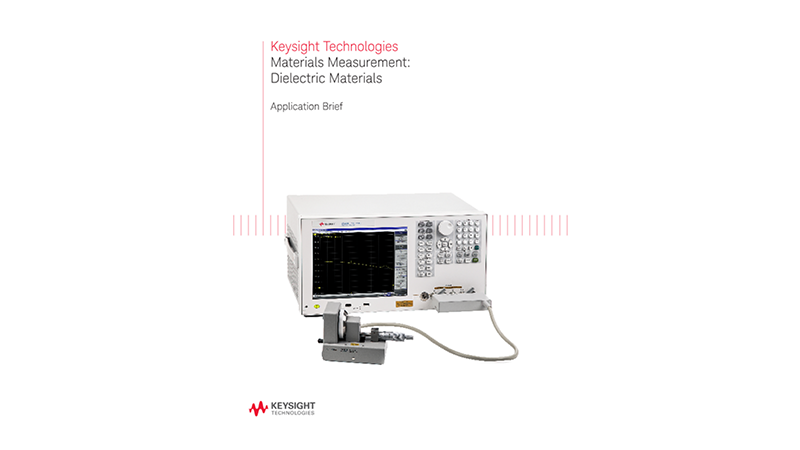 Materials Testing: Applications of Dielectric Materials