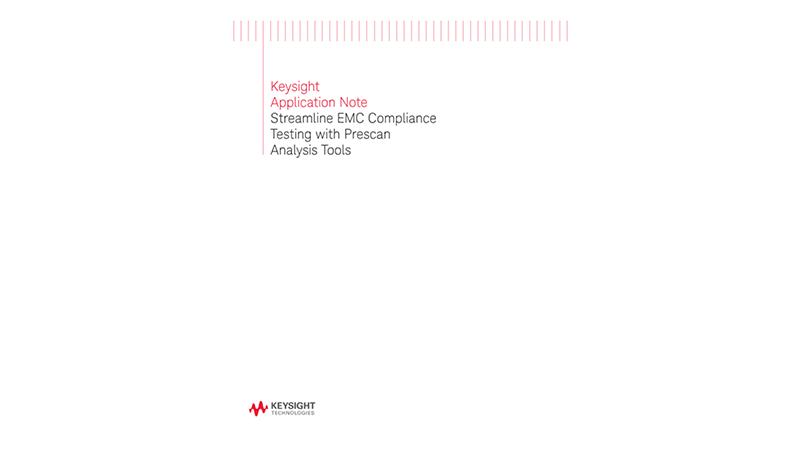 Streamline EMC Compliance Testing with Prescan Analysis Tools