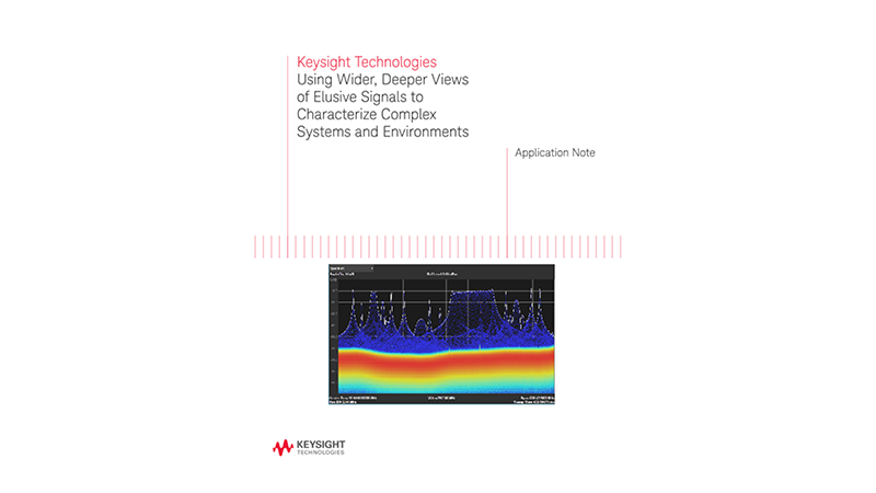 Characterizing EW Systems and Dynamic Environments using Signal Analyzers