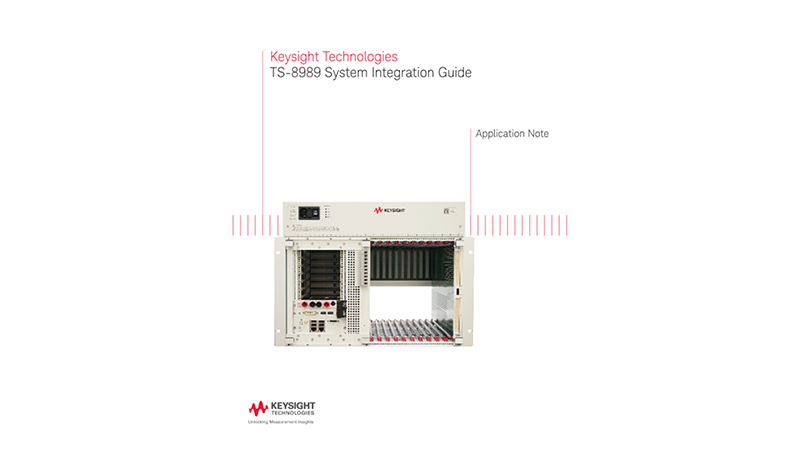 TS-8989 System Integration Guide