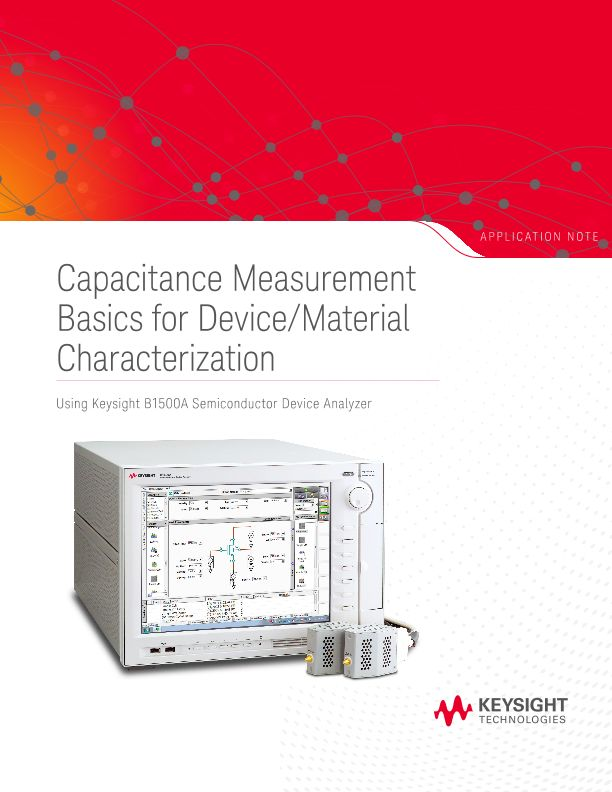 Capacitance Measurement Basics for Device/Material Characterization