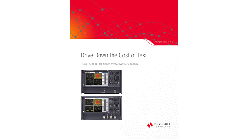 Reduce Cost of Test