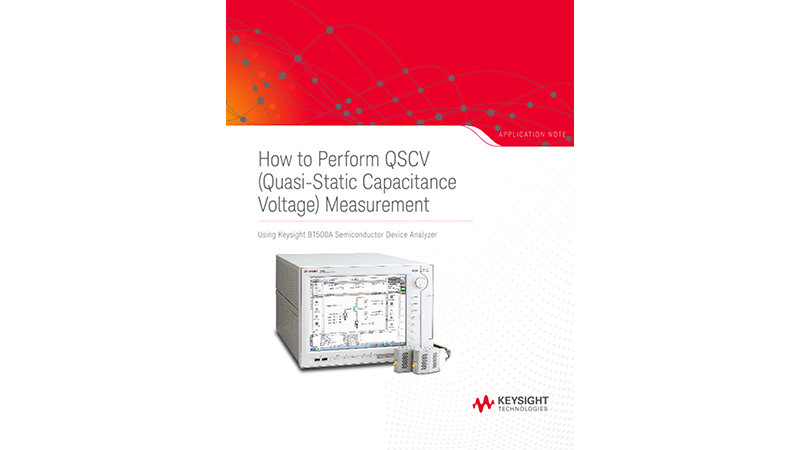 Quasi-Static Capacitance Voltage Measurement Techniques