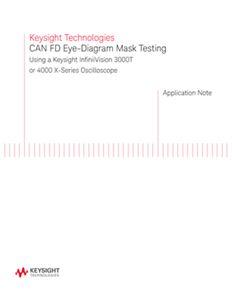 CAN FD Eye-Diagram Mask Testing