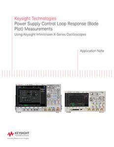Power Supply Control Loop Response (Bode Plot) Measurements