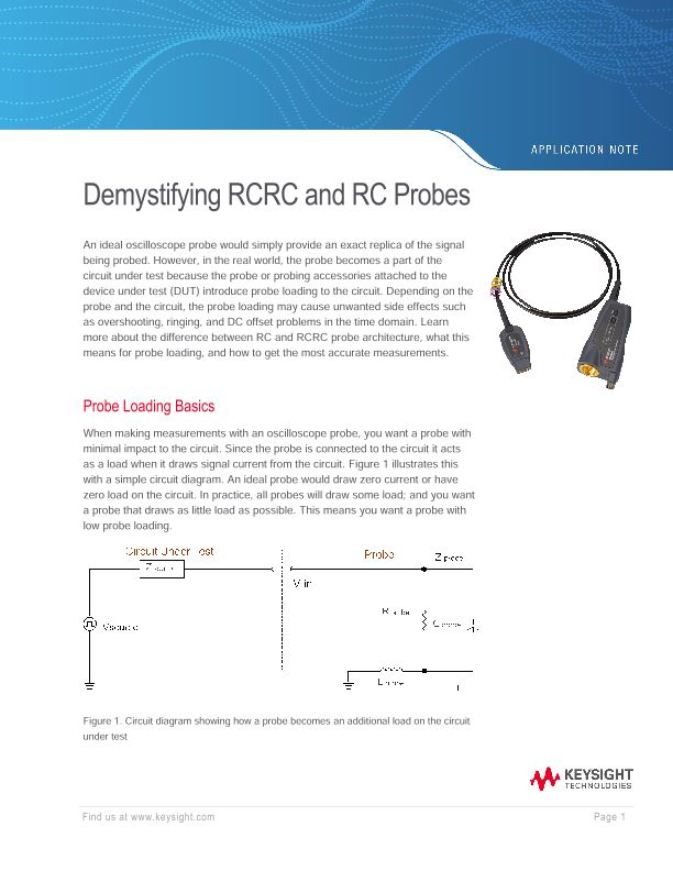 Demystifying RCRC and RC probes