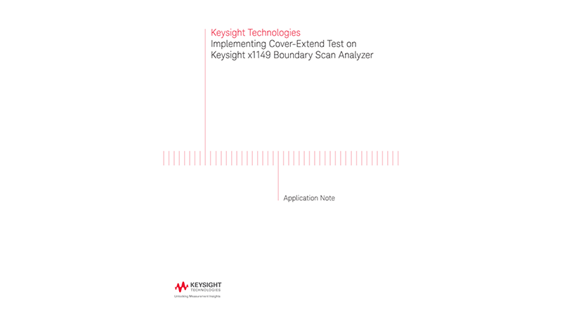 Implementing Cover-Extend Test on Boundary Scan Analyzers