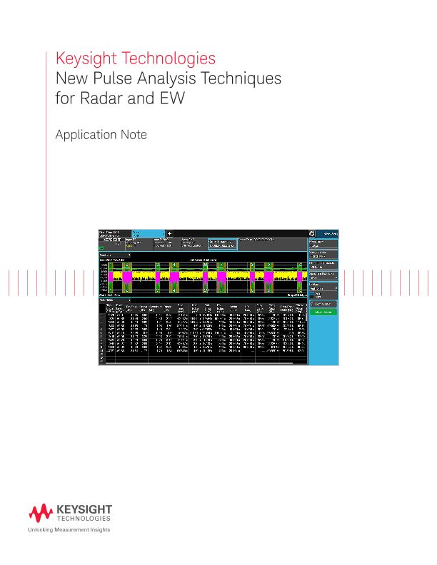 New Pulse Signal Processing and Analysis Techniques