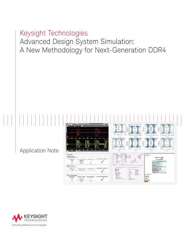 ADS Simulation: A New Methodology for DDR4 Testing