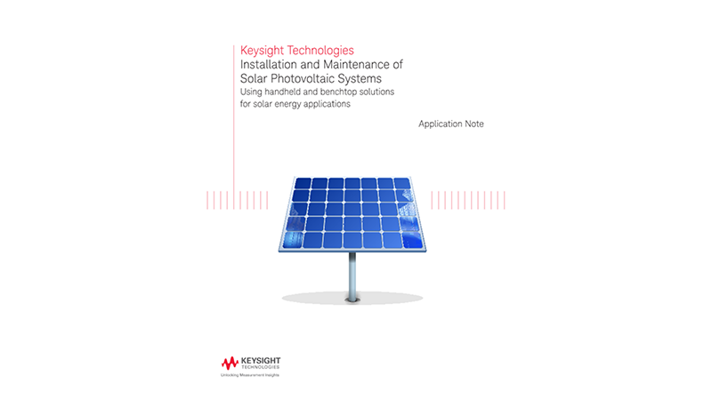 Installation and Maintenance of Solar Photovoltaic Systems